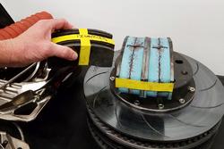 Brad Keselowski Racing sistema de frenos