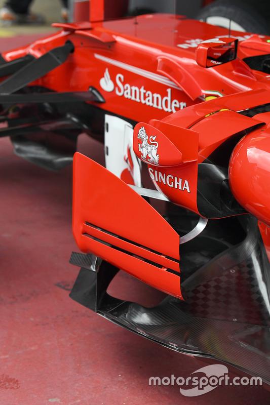 Боковой дефлектор Ferrari SF70H