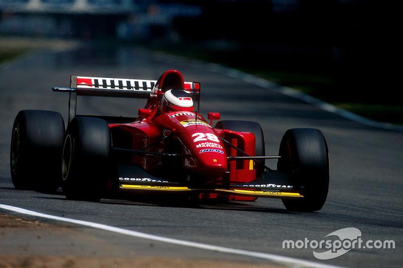 1994: Ferrari 412T1B (одна победа, 3-е место в КК)