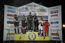 Alessandro Gino-Marco Simone Ravera, Sébastien Carron-Vincent Landais, D-Max Swiss, ed Elwis Chentre-Elena Giovenale, Winners Rally Team, podio