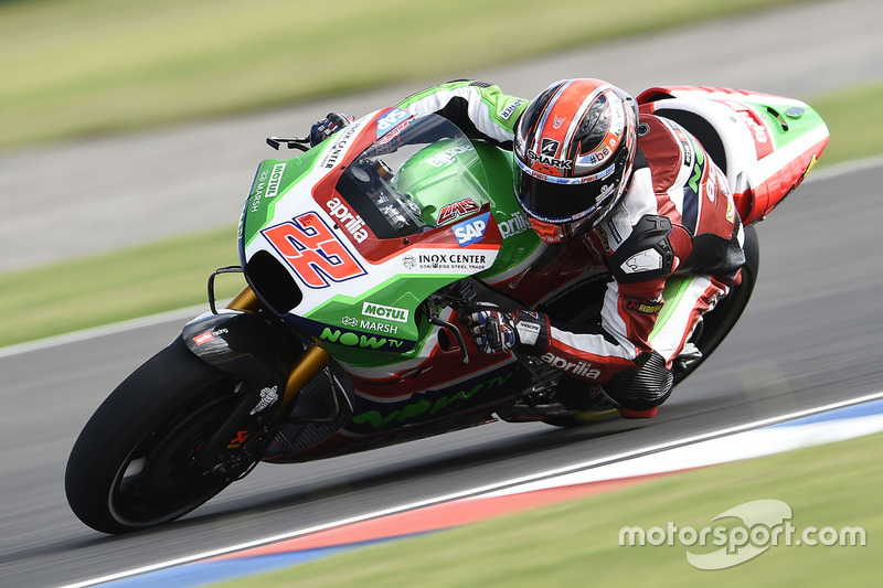 22. Sam Lowes, Aprilia Racing Team Gresini