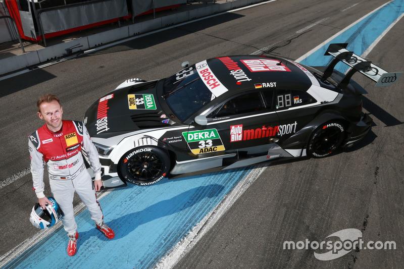 René Rast, Audi Sport Team Rosberg, Audi RS 5 DTM