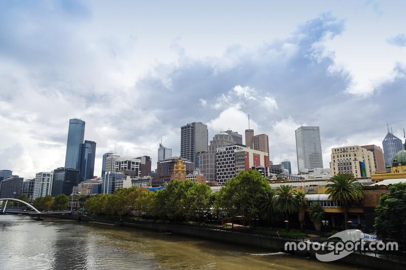 Una mirada de Melbourne sobre el río Yarra
