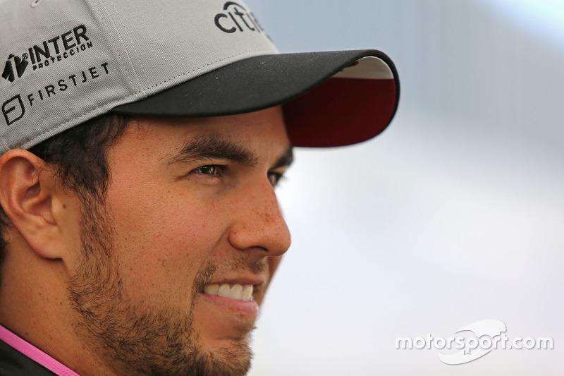 Pérez, de 27 anos, permaneceu na Force India por seu quarto ano.