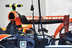 McLaren MCL32, rear