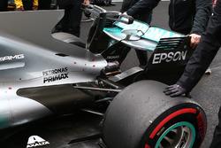 Mercedes AMG F1 W08, Heck, Detail