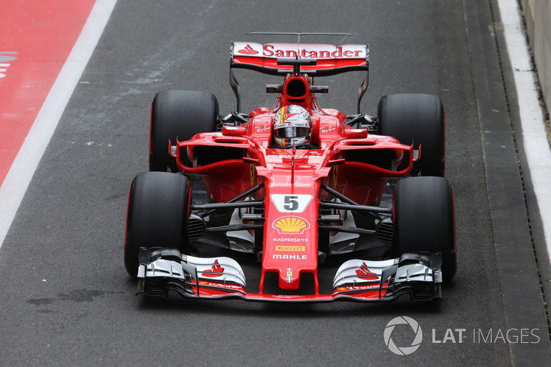3. Себастьян Феттель, Ferrari SF70H
