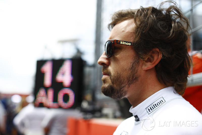 Resultado de imagen de Fernando Alonso exhibición Londres 2017