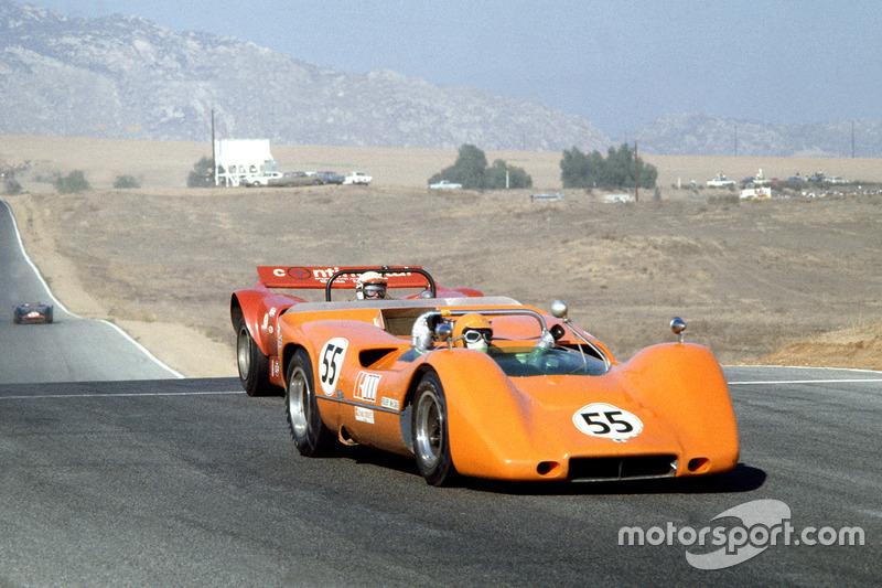 1968, McLaren M6B Chevrolet, Роджер МакКейг. Серия Can-Am