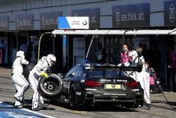 Pit stop, Bruno Spengler, BMW Team RBM, BMW M4 DTM