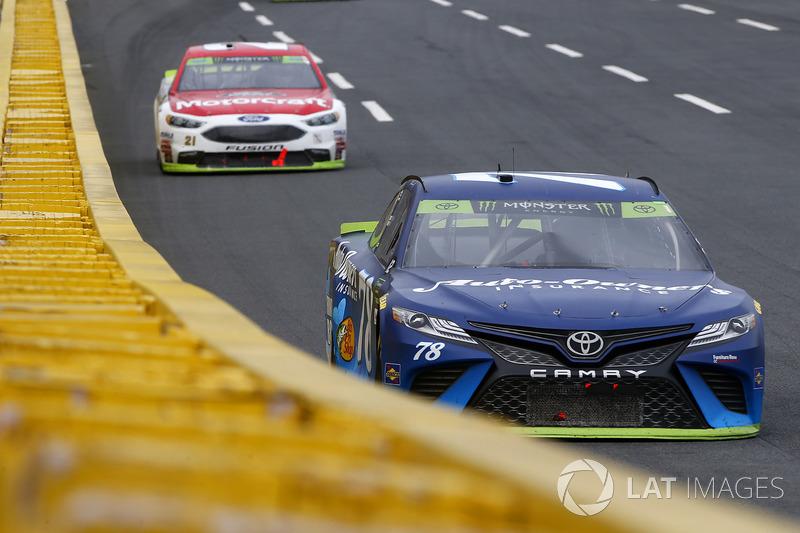Martin Truex Jr Furniture Row Racing Toyota At Charlotte Ii
