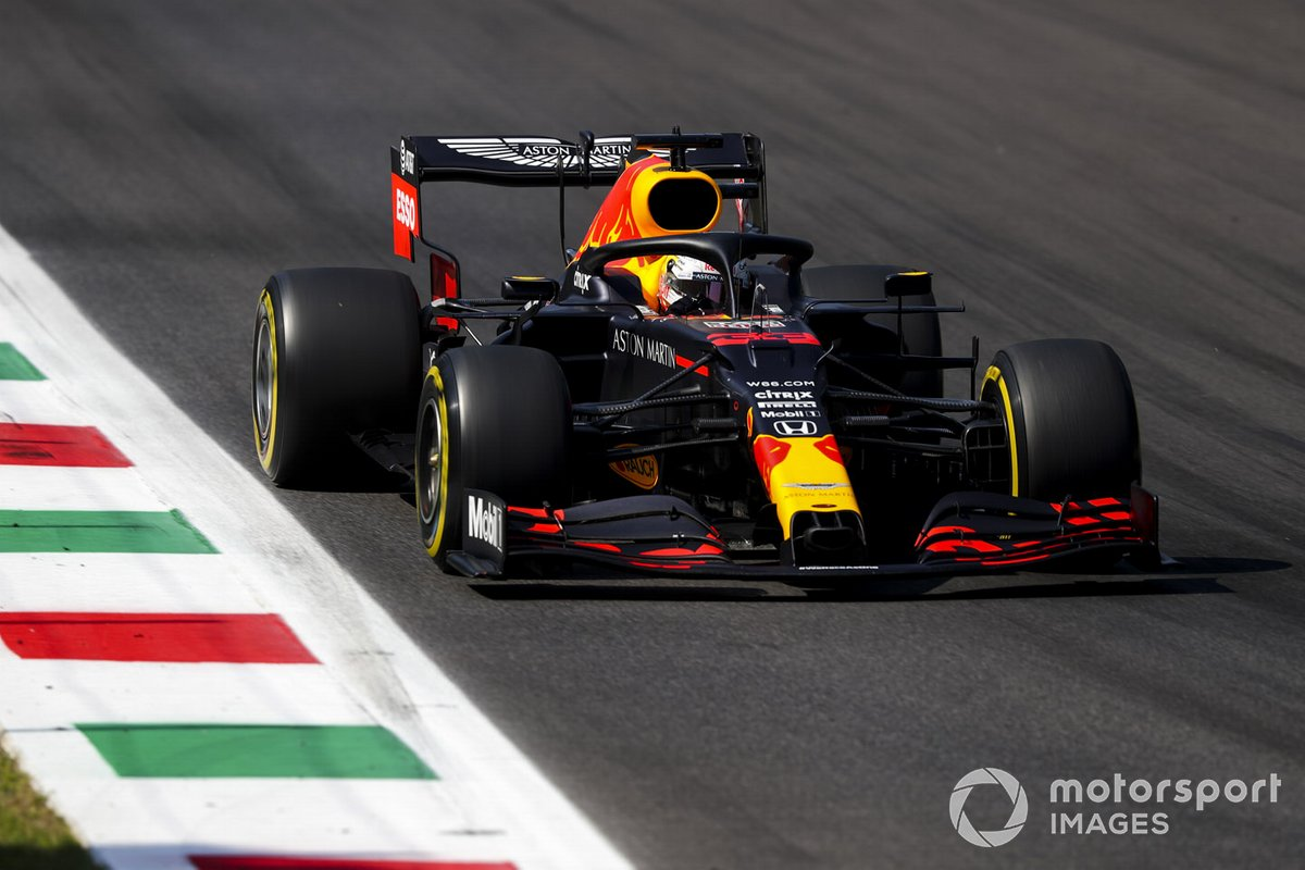 P5 Max Verstappen, Red Bull Racing RB16