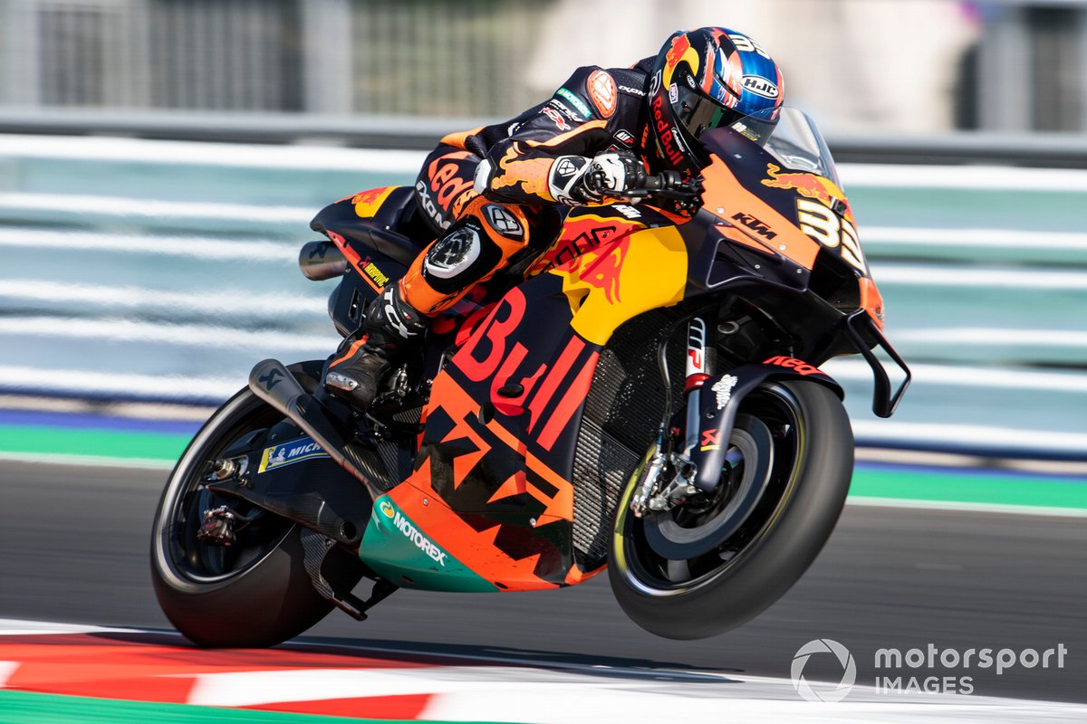 P6 Brad Binder, Red Bull KTM Factory Racing