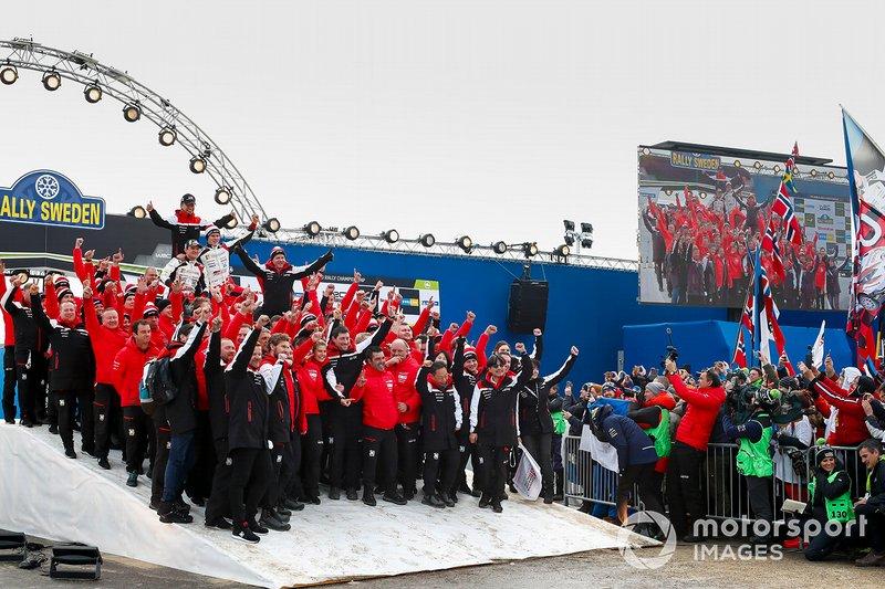 Ott Tänak, Martin Järveoja, Toyota Gazoo Racing WRT team
