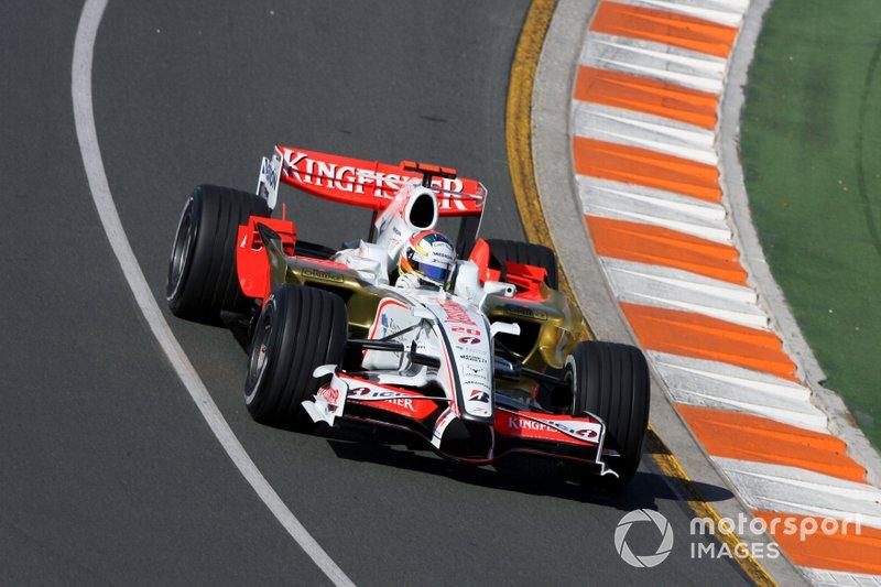 First race for an Indian team (2008 Australian Grand Prix)