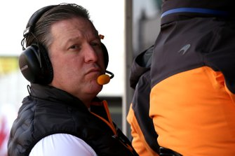 Zak Brown, McLaren Racing CEO