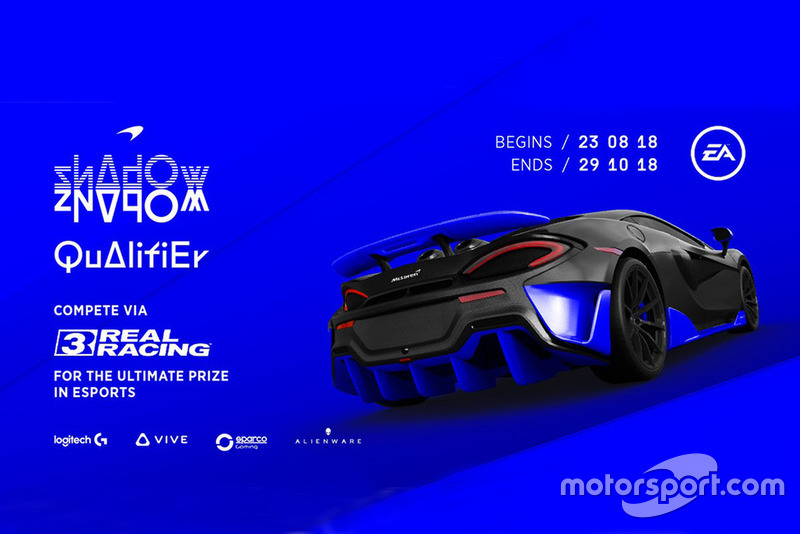 Qualification for McLaren Shadow opens on mobile game Real Racing 3
