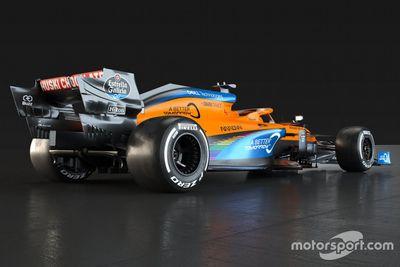 Pintura especial da McLaren