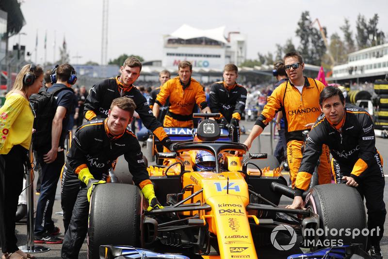 10. Фернандо Алонсо, McLaren — 50