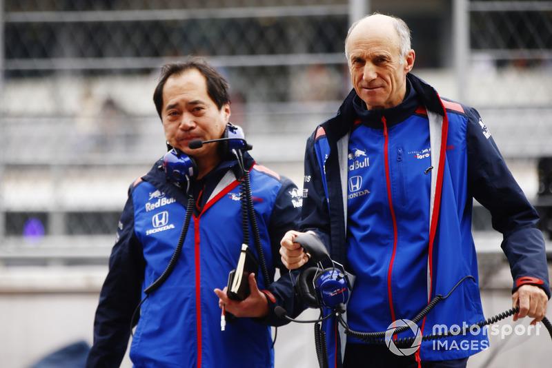 Toyoharu Tanabe, Direktur Teknis F1, Honda, Franz Tost, Team Principal, Scuderia Toro Rosso