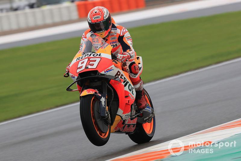 MotoGP Valencia: Marc Marquez, Repsol Honda Team
