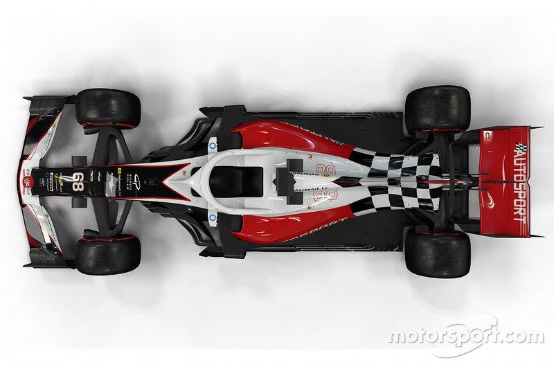 Impressie Formule 1-wagen 2019