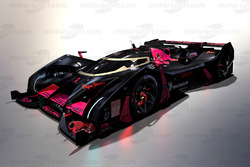 Дизайн воображаемой машины LMP будущего