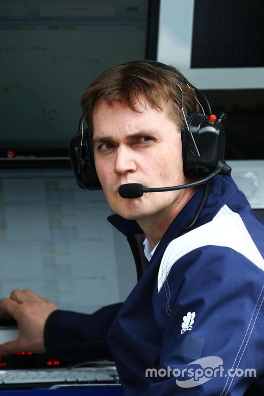 Sauber F1 Team ingenieur