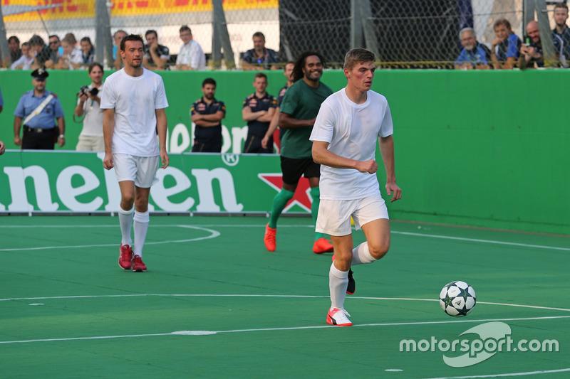 Heineken charity football game, Max Verstappen, Red Bull Racing