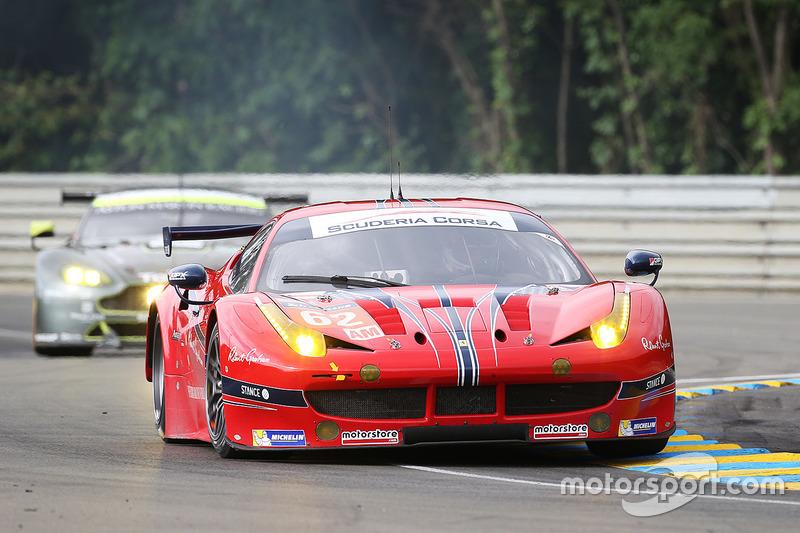 #62 Scuderia Corsa Ferrari 458 Italia: Білл Свідлер, Джефф Сігал, Таунсенд Белл