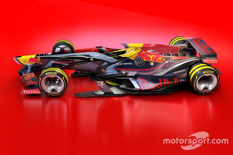Red Bull Racing 2030 diseño fantasy