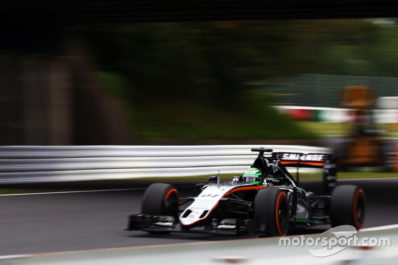 9: Nico Hulkenberg, Sahara Force India F1 VJM09