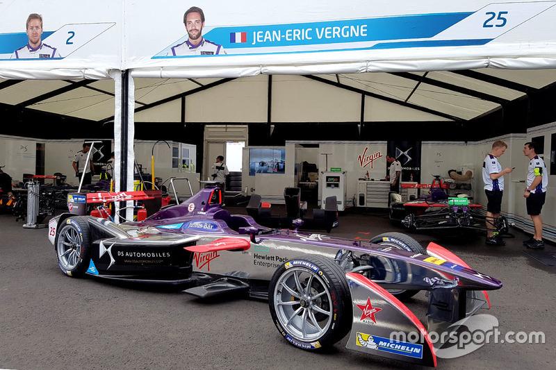 Auto de Jean-Eric Vergne, DS Virgin Racing