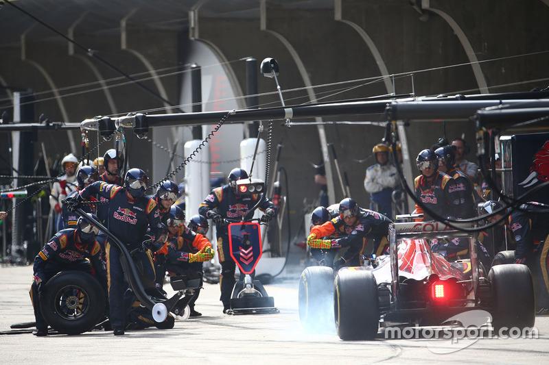 Карлос Сайнс, Toro Rosso