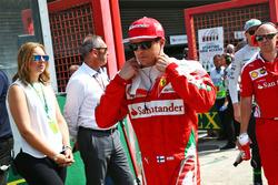 Кими Райкконен, Ferrari на стартовой решетке