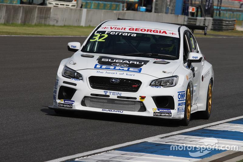 Luigi Ferrara, Top Run Motorsport, Subaru Impreza STiTCR