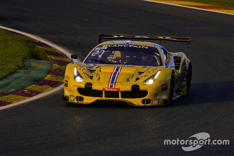 #50 AF Corse - Spirit Of Race Ferrari 488 GT3: Pasin Lathouras, Michele Rugolo, Alessandro Pier Guid