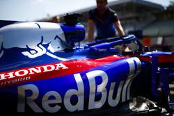 The car of Brendon Hartley, Toro Rosso STR13