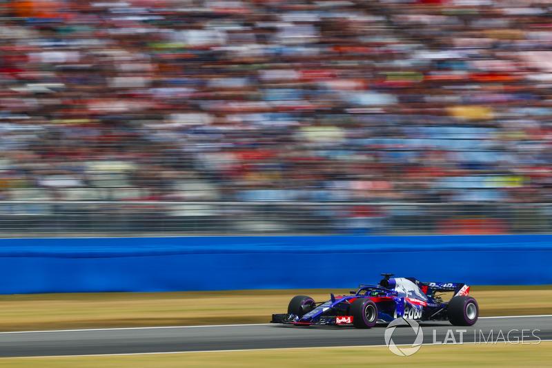 16: Брендон Хартлі, Toro Rosso STR13, 1'14.045