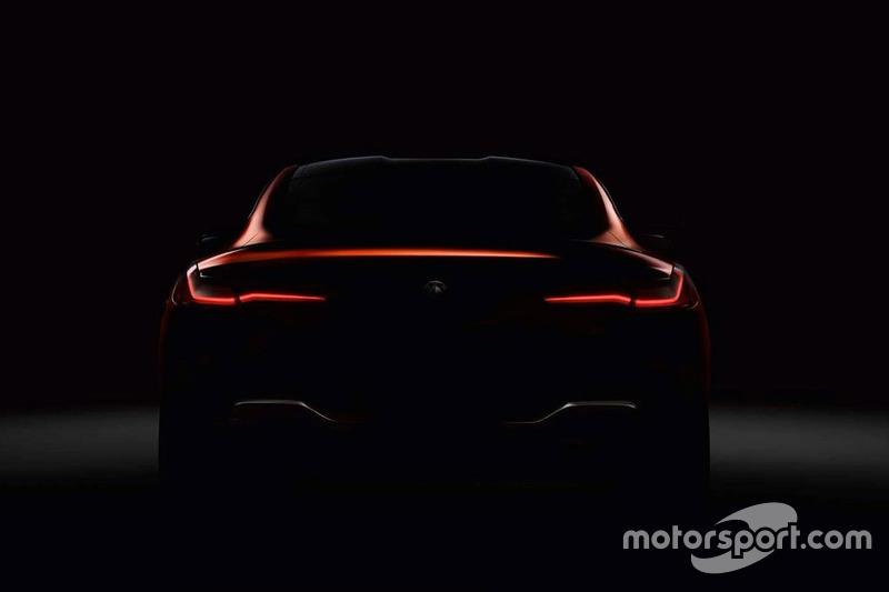 2019 BMW 8 Серія, тізер