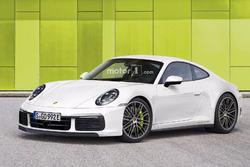 Porsche 911 Hybrid 2019