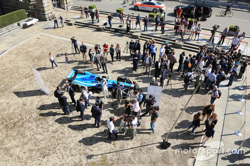 Presentación del ePrix de Zurich