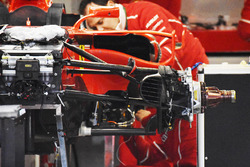 Передняя подвеска Ferrari SF70H Кими Райкконена