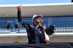 Daniel Ricciardo, Red Bull Racing on the drivers parade