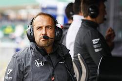 Matt Morris, Engineering Director, McLaren