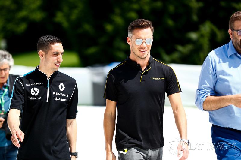 Sébastien Buemi, Renault e.Dams, Andre Lotterer, Techeetah