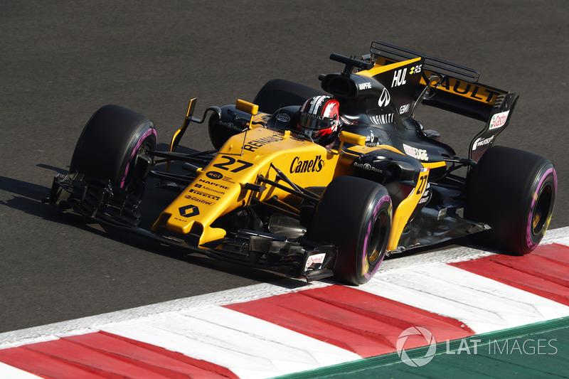 7º Nico Hulkenberg, Renault Sport F1 Team RS17