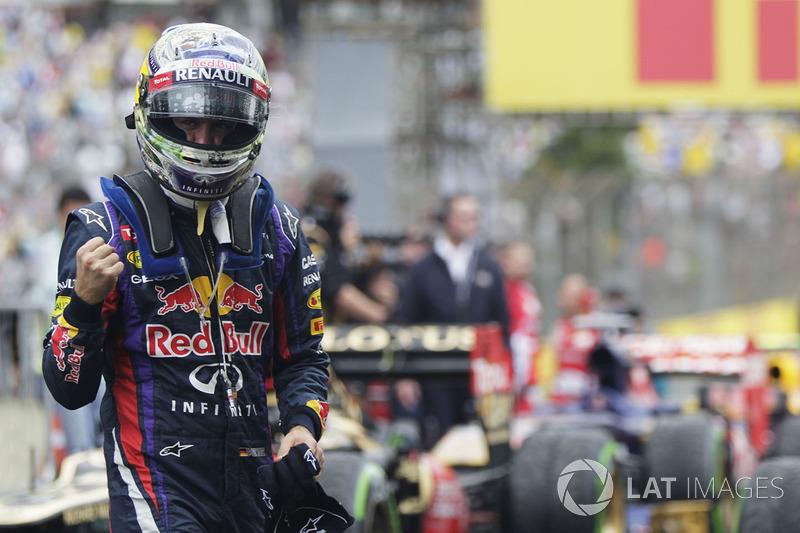 2013: Última victoria de Vettel con RedBull