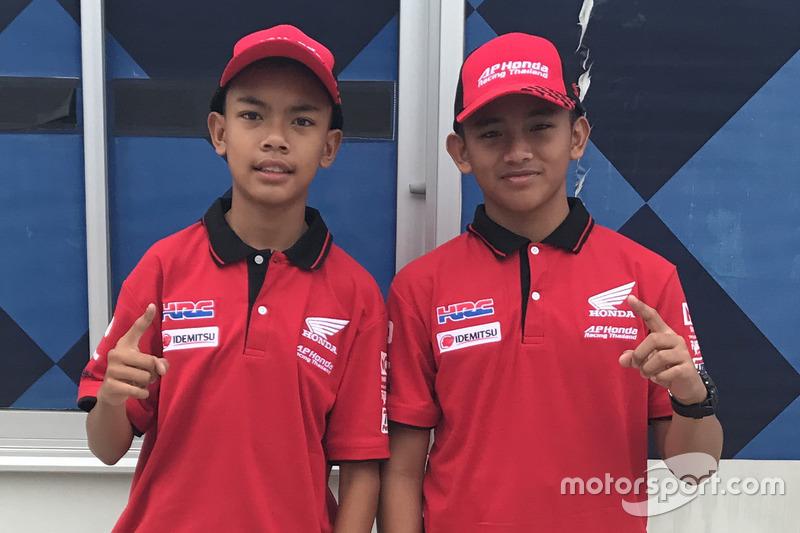 Adenanta Putra dan Mario Suryo Aji, Astra Honda Racing Team