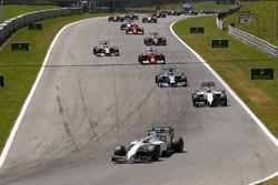 Felipe Massa, Williams FW36 líder al inicio